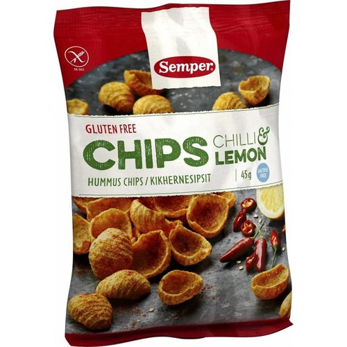 Semper Kikkererwten Chips Chili & Lemon