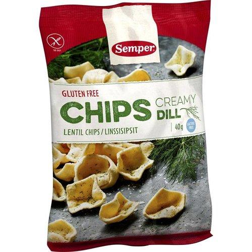 Semper Linzen Chips met Romige Dille