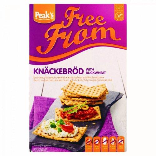 Peak's Free From Knäckebröd met Boekweit