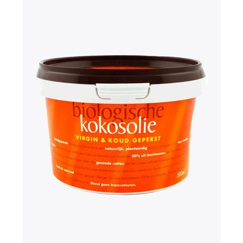 Omega & More Kokosolie koud geperst 500ml Biologisch