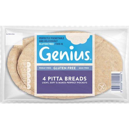 Genius Pittabroodjes 4 stuks