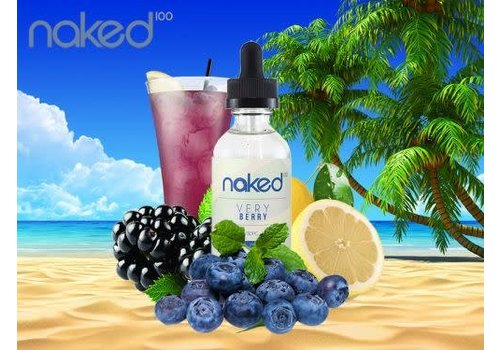 Naked 100 Very Berry 50ml
