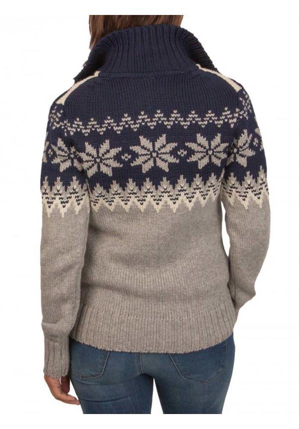 ® Myking Pullover, dunkelblau / grau