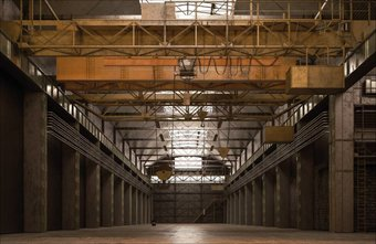 Industrieel behang en fotobehang met industri le for Industrieel behang