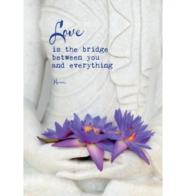 Zintenz Love is the bridge briefkaart