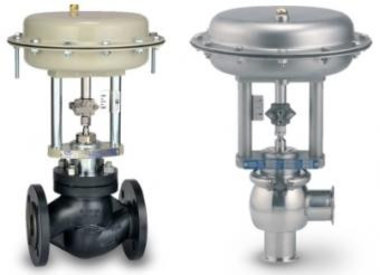 Control valves, safety vales