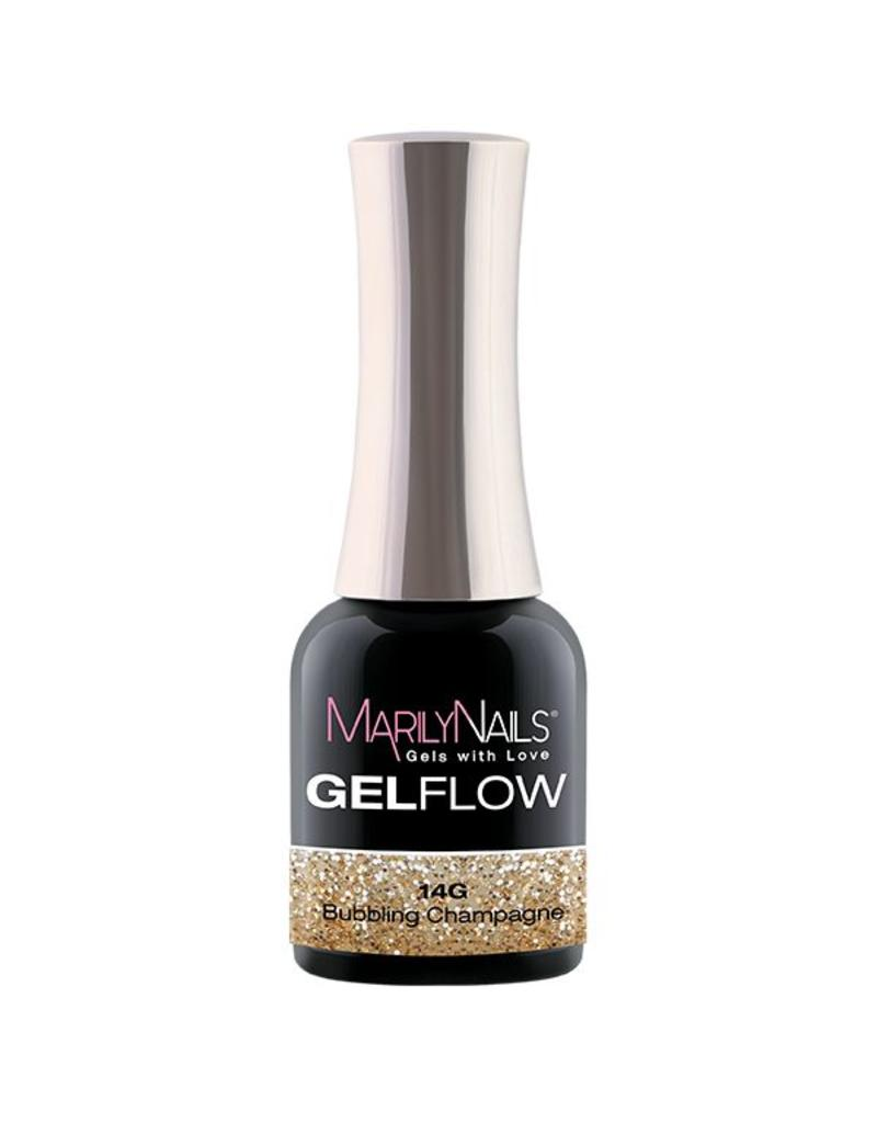 MarilyNails MN GelFlow - Bubbling Champagne #14