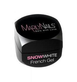 MarilyNails MN SnowWhite French Gel 40 ml.