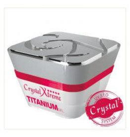 Crystal Nails CN Xtreme Titanium Gel 15 ml.