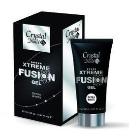 Crystal Nails CN xtreme Fusion Gel extra White 30 gr.