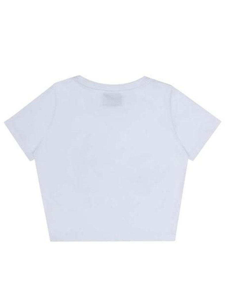 Damen Top Bye - white