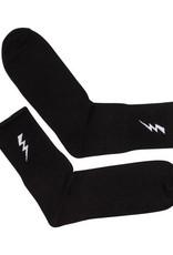 Lightning Socks – black