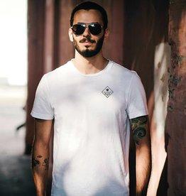 Herren T-Shirt Basic Box – white