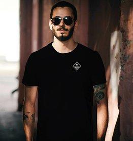 Herren T-Shirt Basic Box – black