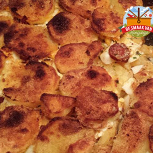 Rakott krumpli – Stapelaardappel