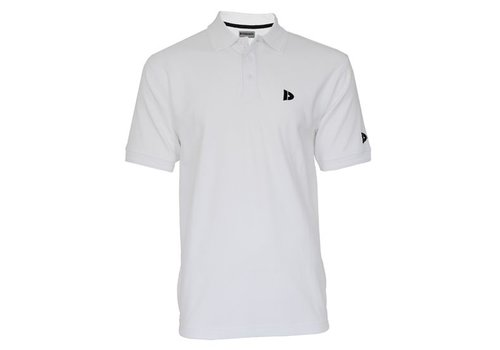 Donnay Donnay Polo pique shirt - Wit
