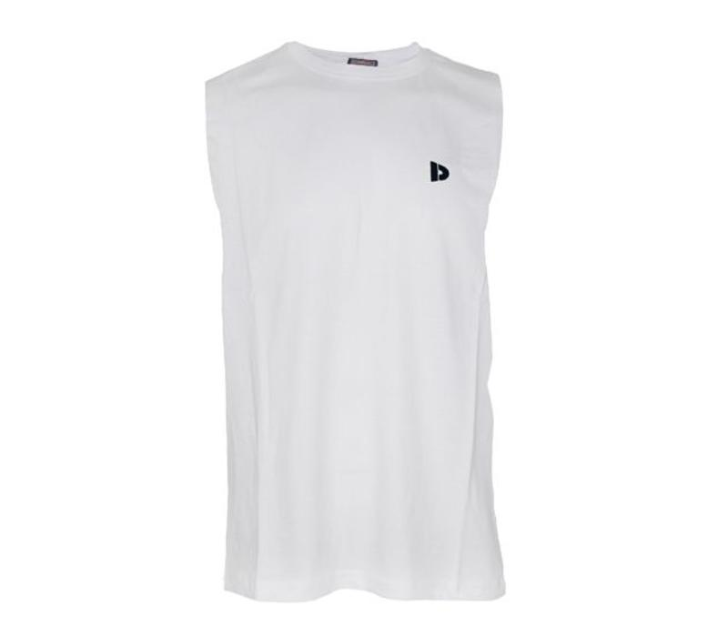 Donnay Mouwloos T- Shirt - Wit