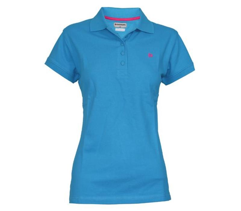 Donnay Polo shirt Dames - Midden blauw
