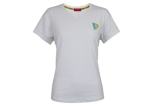 Donnay V-neck t-shirt - Wit