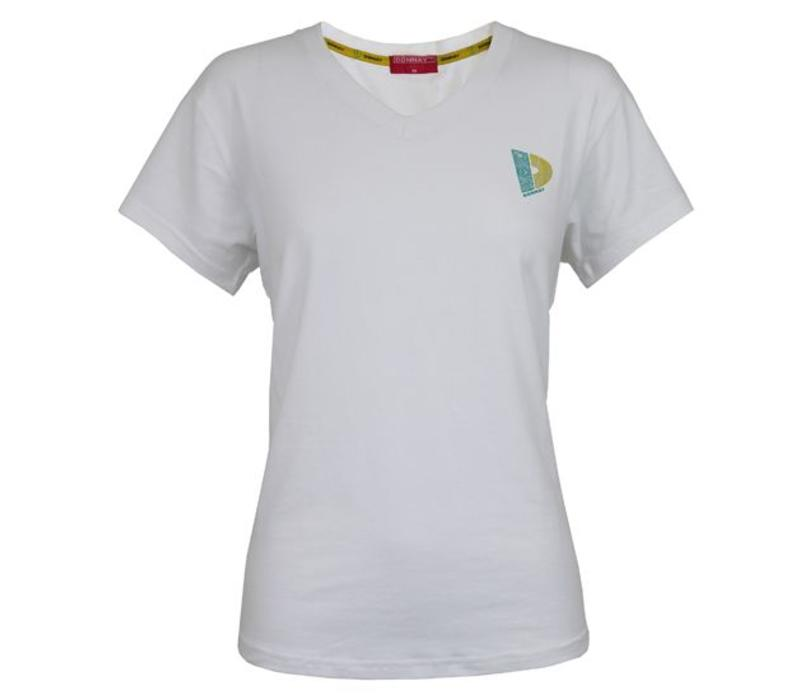 Donnay V-neck t-shirt - Wit