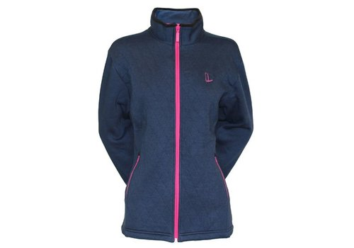 Donnay Sweater met hele rits Lds - Staal blauw