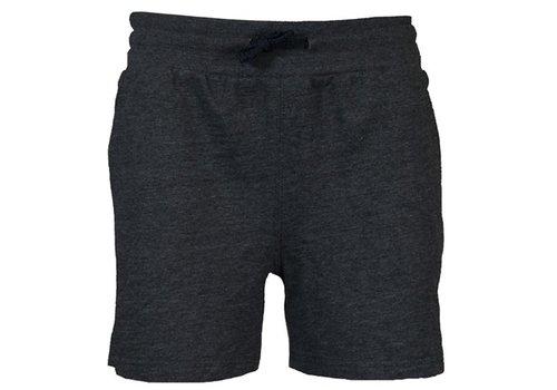 Donnay Kort joggingshort - Donker grijs gemêleerd