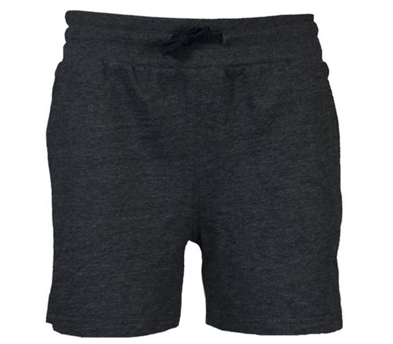 Donnay Kort joggingshort - Dames - Donker grijs gemêleerd