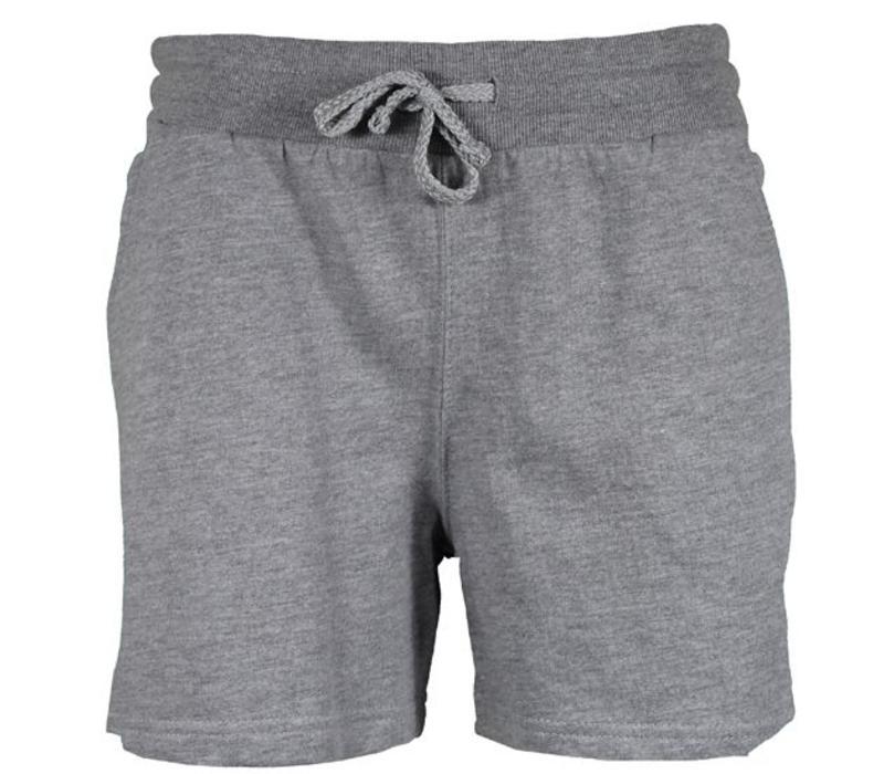 Donnay Kort joggingshort - Midden grijs gemêleerd