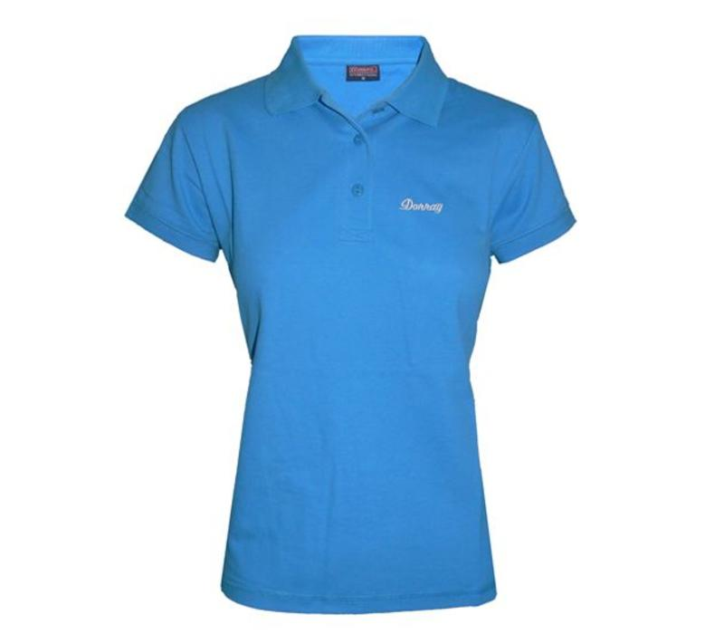 Donnay Polo shirt Lds - Oceaan blauw