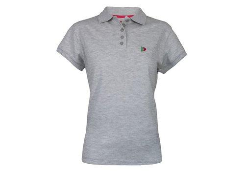 Donnay Polo shirt Lds - Licht grijs gemêleerd