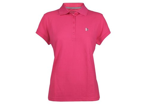 Donnay Polo shirt Lds - Fluo Roze