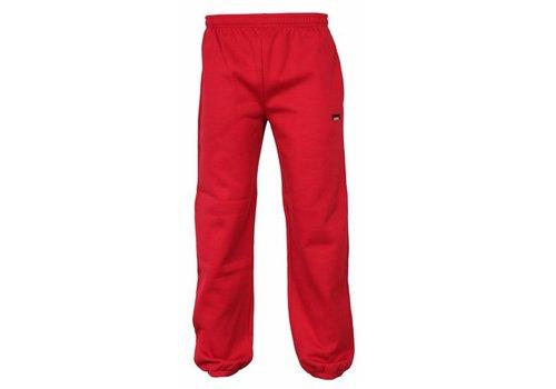 Donnay Joggingbroek met boord kids - Hard rood