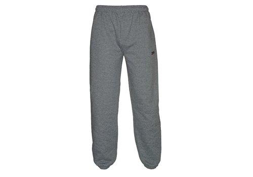 Donnay Donnay Joggingbroek met boord - Junior - Midden grijs gemêleerd