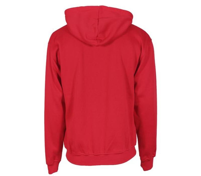 Donnay vest met capuchon - Hard rood