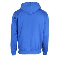 Donnay Sweater met hele rits en capuchon - Korenblauw