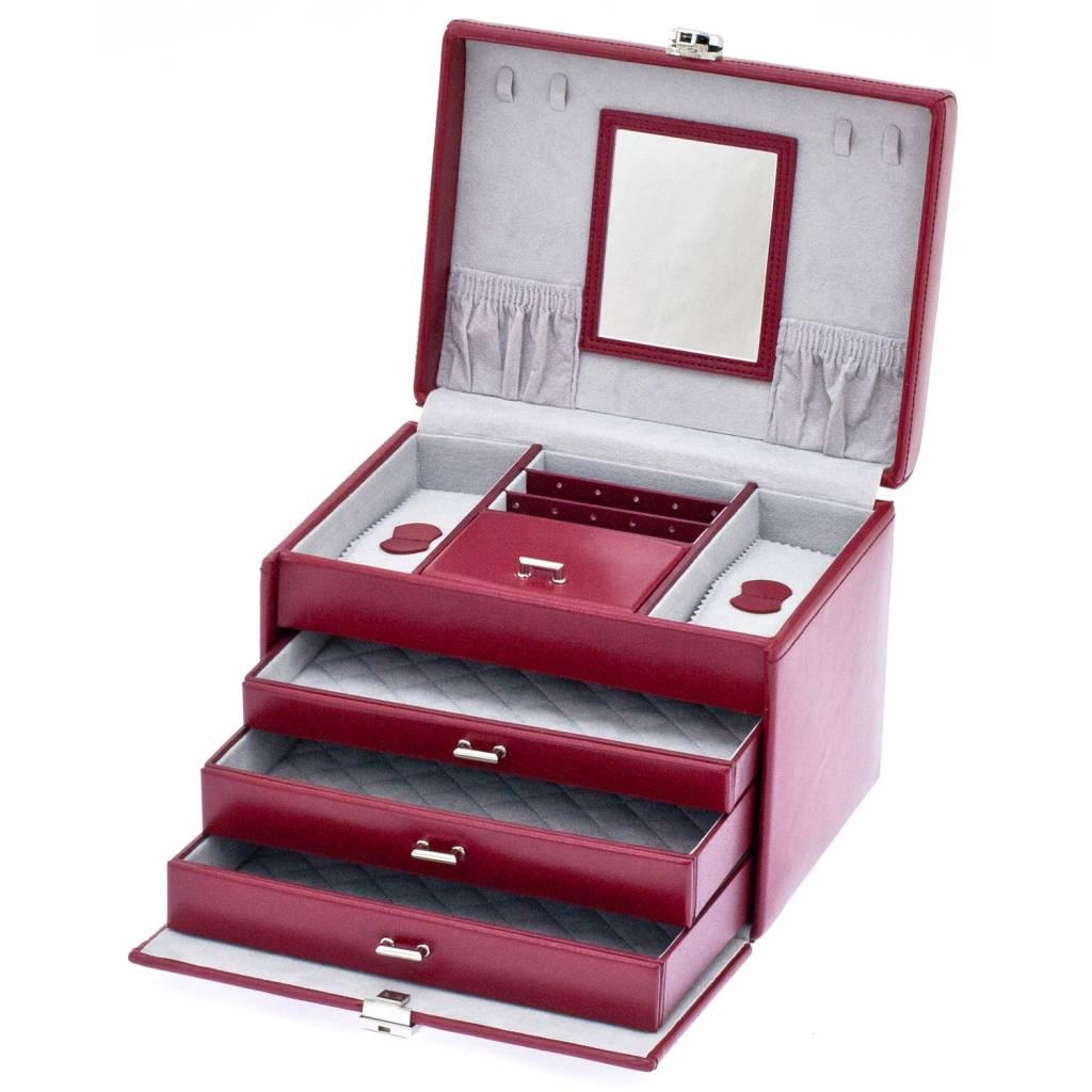 Juwelendoos Luxe Rood