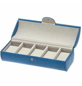 Davidts Uhrenbox 5 Stück Blau