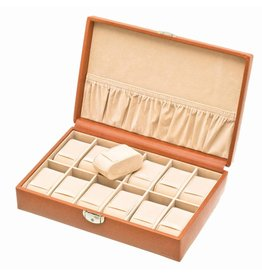 Davidts Uhrenbox 12 Stück Cognac