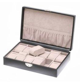 Davidts Boîte de montre 12 pièces Noir