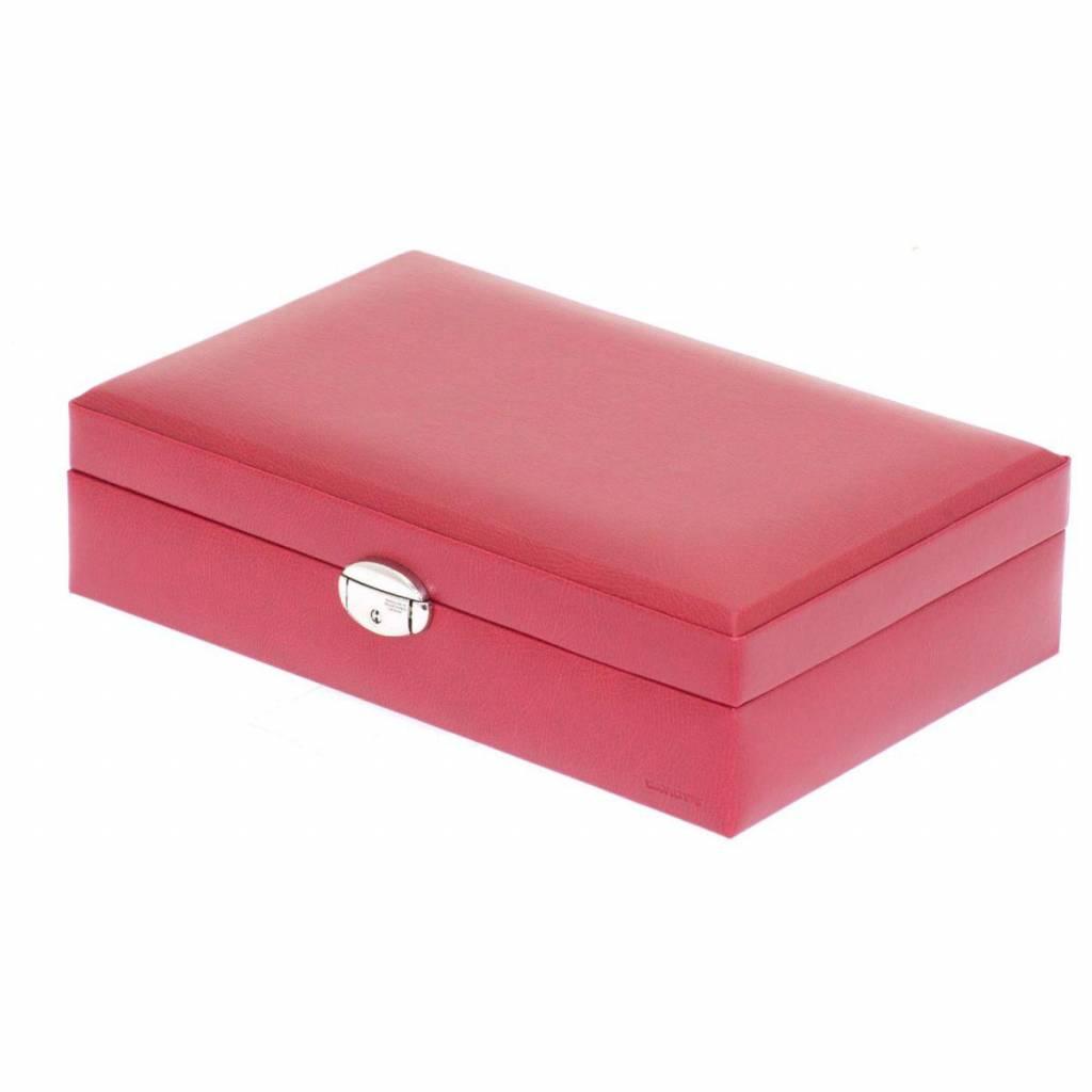 Uhrenbox 12 Stück Rot