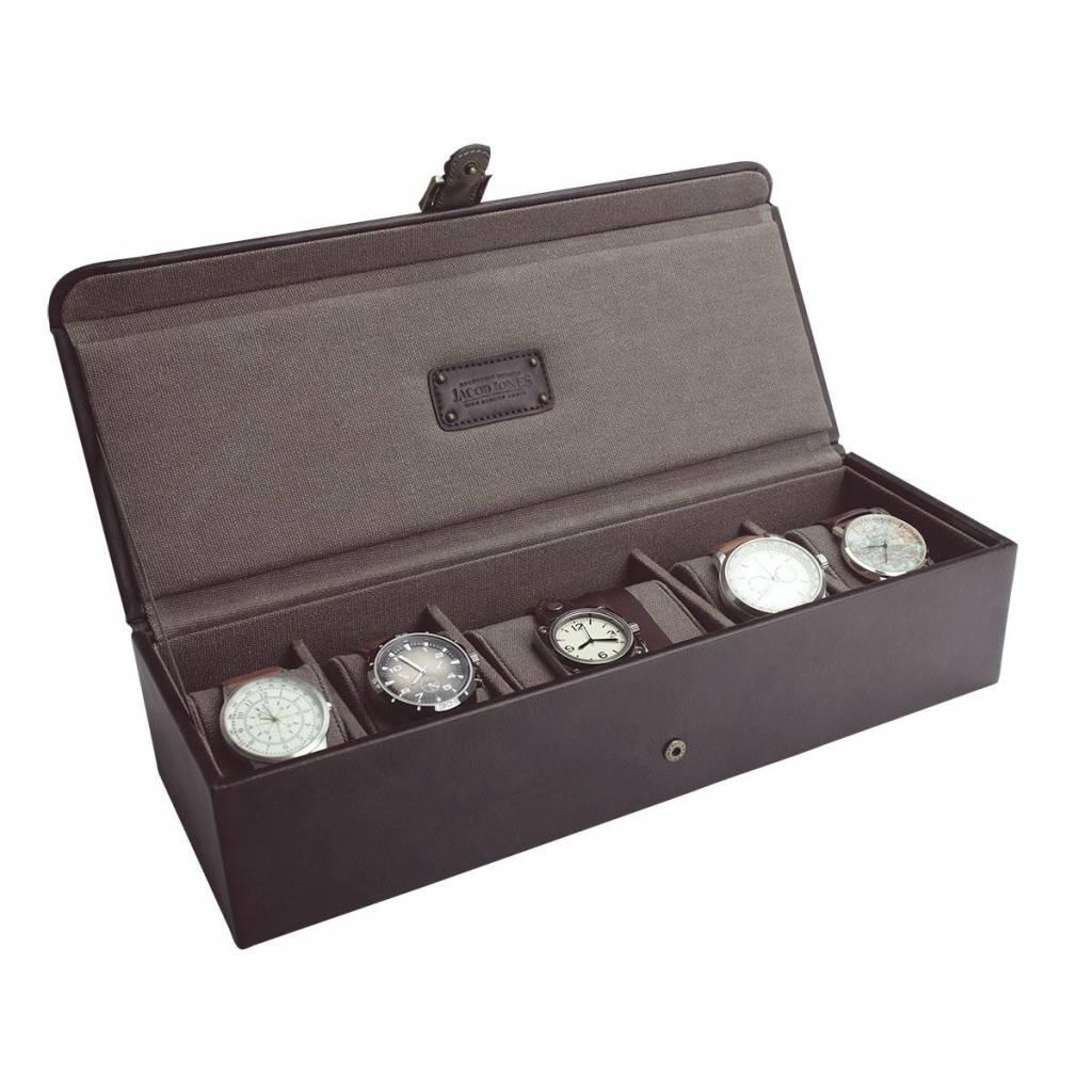 Uhrenbox Braun & Khaki 5-6 stück