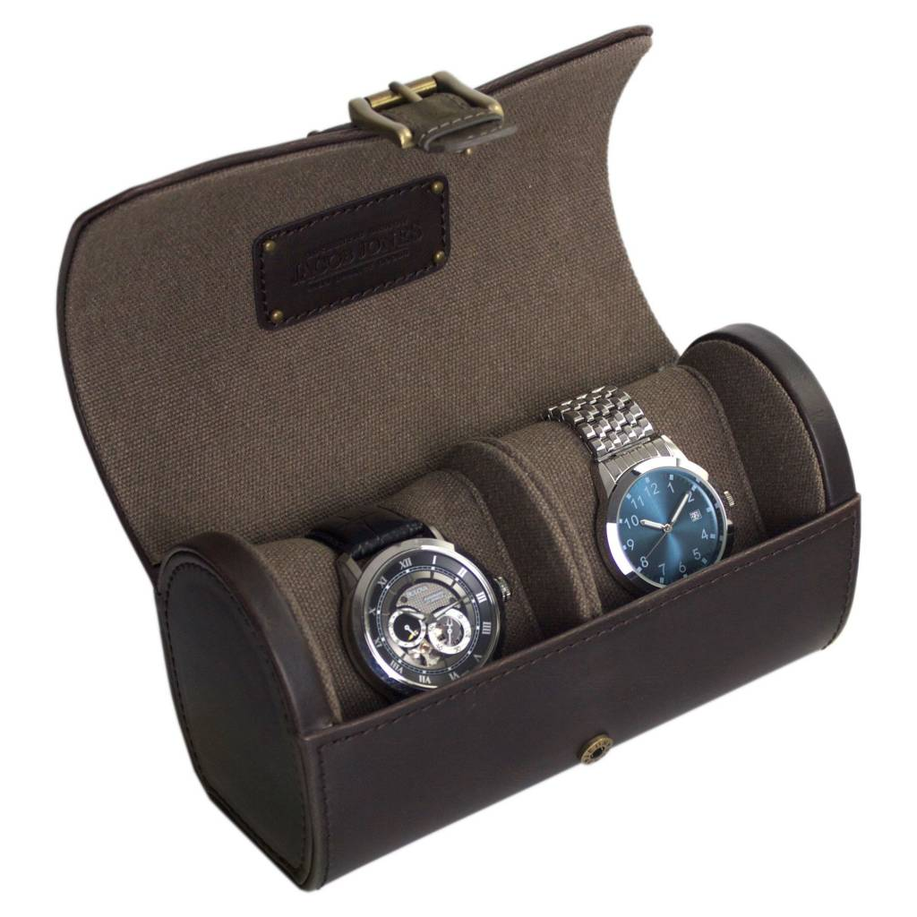 Horlogetube Bruin Khaki 2 pcs