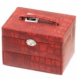 Davidts Boîte à bijoux Caiman Red