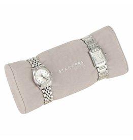 Stackers Sieraden-/horlogedoos Mink horloge/armbandhouder