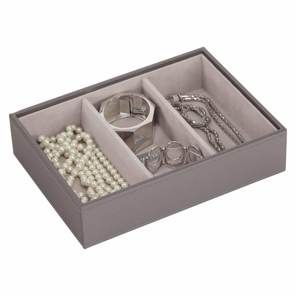 Sieradendoos Mink Classic 3-vaks voor horloges/accessoires