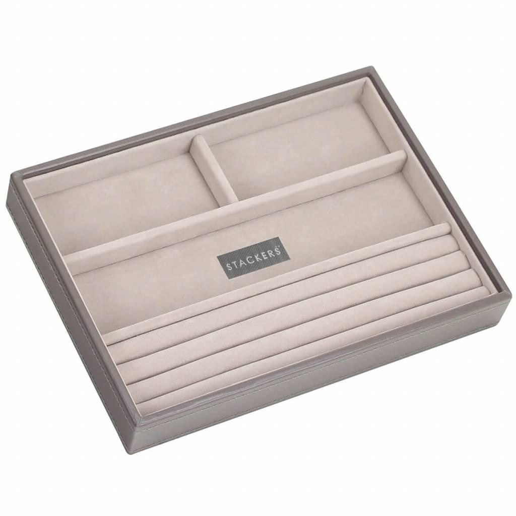 Sieradendoos Mink Classic 4-vaks voor ringen en armbanden