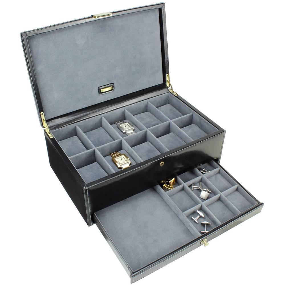 Uhrenbox Luxusleder 10 Stücke