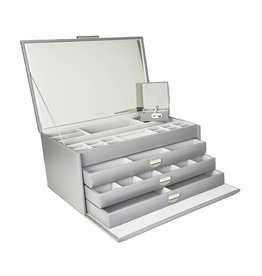 Dulwich Design Boîte à bijoux Grande gris