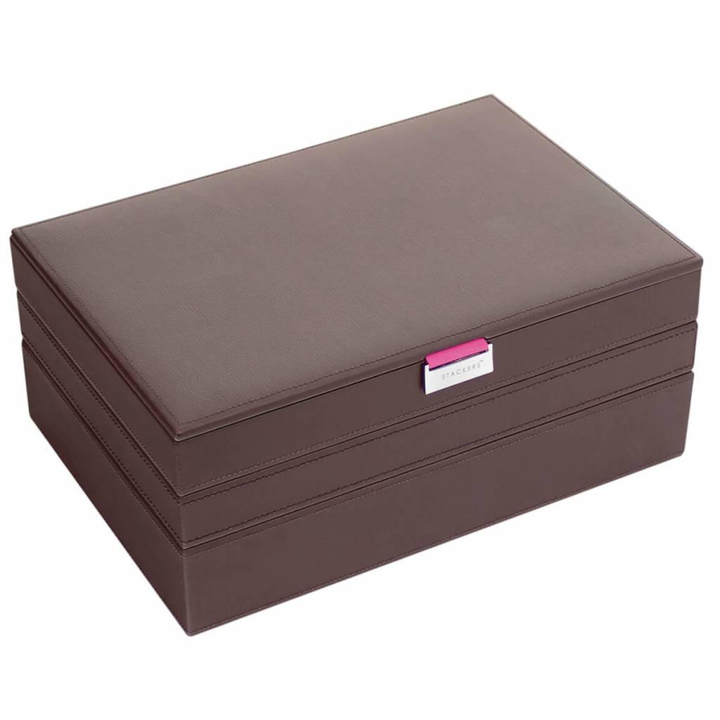 Sieradendoos Chocolate Brown Supersize set