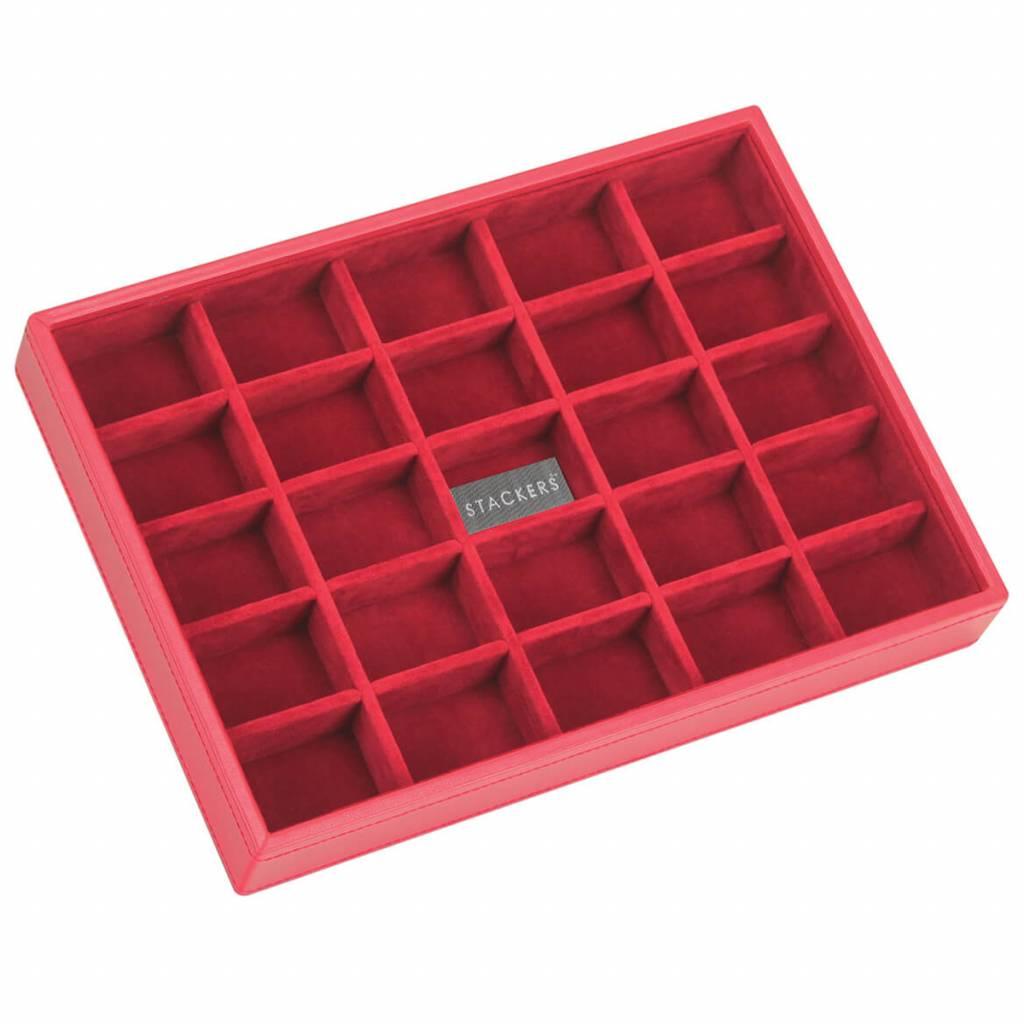 Sieradendoos Red Classic 25-vaks voor kleine accessoires